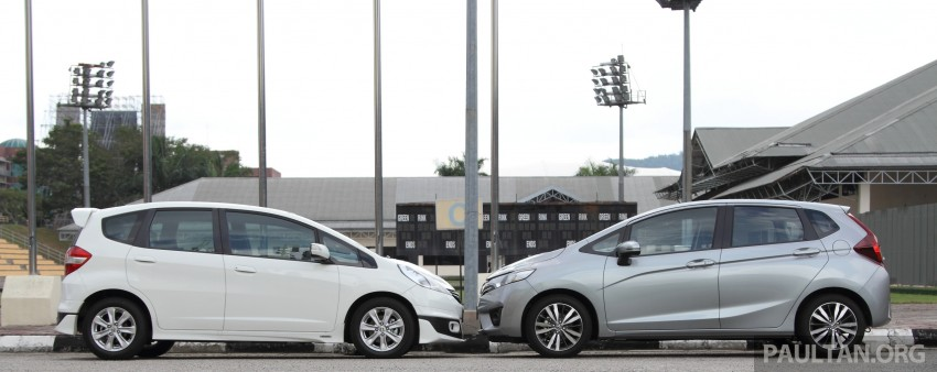 GALLERY: Old and new Honda Jazz, side by side Image #268632