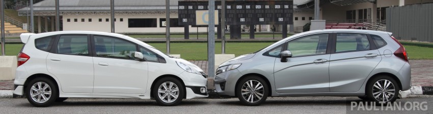 GALLERY: Old and new Honda Jazz, side by side Image #268633