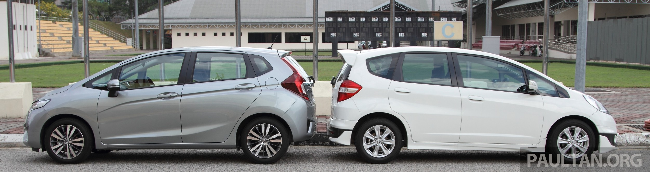 Side By Side 2018 >> GALLERY: Old and new Honda Jazz, side by side Paul Tan - Image 268634