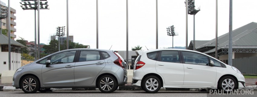 GALLERY: Old and new Honda Jazz, side by side Image #268635