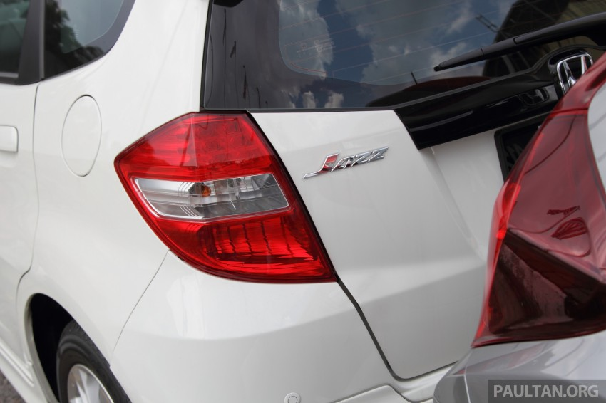 GALLERY: Old and new Honda Jazz, side by side Image #268656