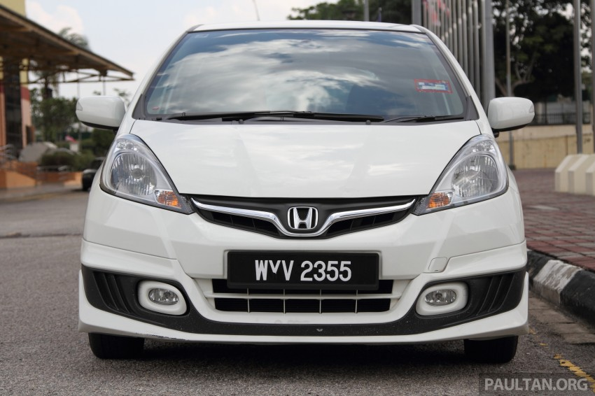 GALLERY: Old and new Honda Jazz, side by side Image #268658