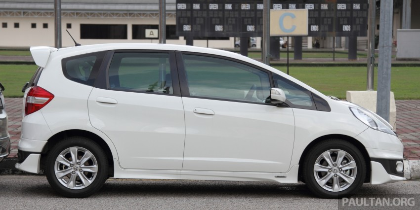 GALLERY: Old and new Honda Jazz, side by side Image #268659