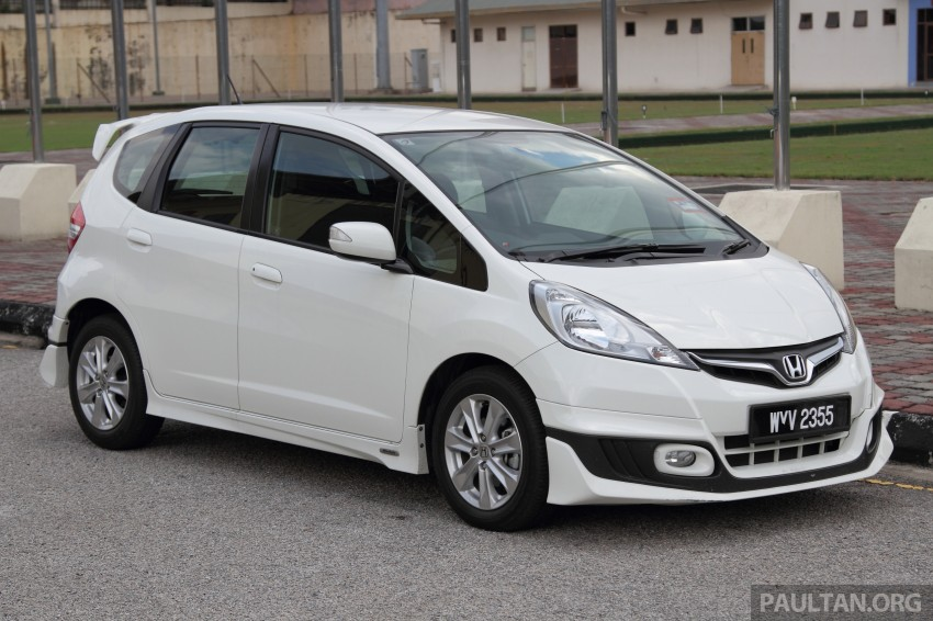 GALLERY: Old and new Honda Jazz, side by side Image #268660