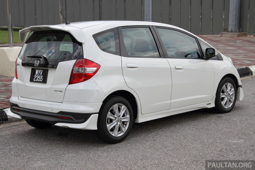 GALLERY: Old and new Honda Jazz, side by side Image #268661