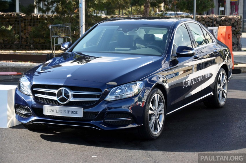 Mercedes-Benz C 350 Plug-in Hybrid previewed: 211 PS 2.0 turbo engine, 80 hp electric motor Image #275727