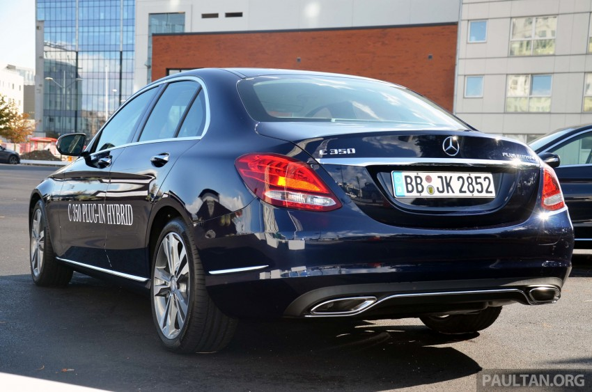 Mercedes-Benz C 350 Plug-in Hybrid previewed: 211 PS 2.0 turbo engine, 80 hp electric motor Image #275731