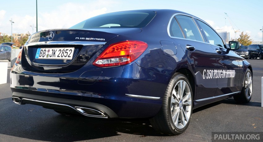 Mercedes-Benz C 350 Plug-in Hybrid previewed: 211 PS 2.0 turbo engine, 80 hp electric motor Image #275735