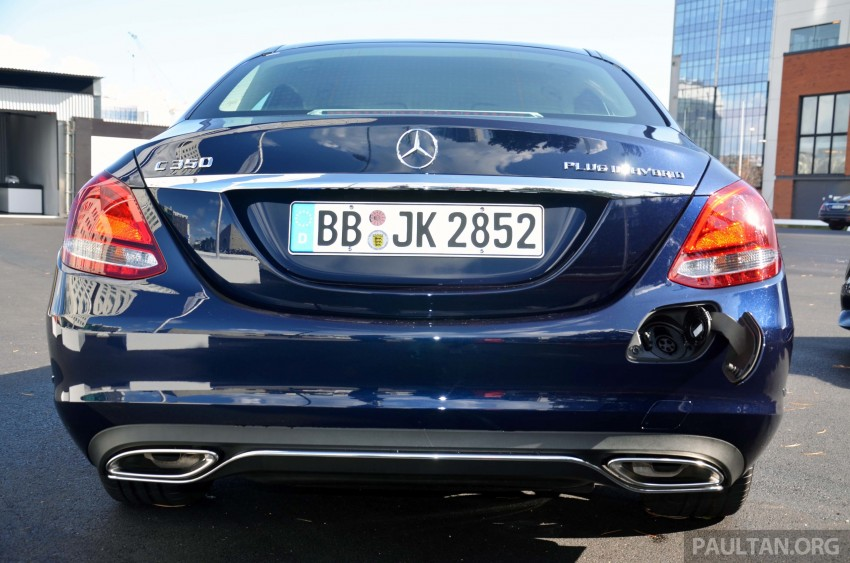 Mercedes-Benz C 350 Plug-in Hybrid previewed: 211 PS 2.0 turbo engine, 80 hp electric motor Image #275738