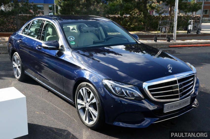 Mercedes-Benz C 350 Plug-in Hybrid previewed: 211 PS 2.0 turbo engine, 80 hp electric motor Image #275746