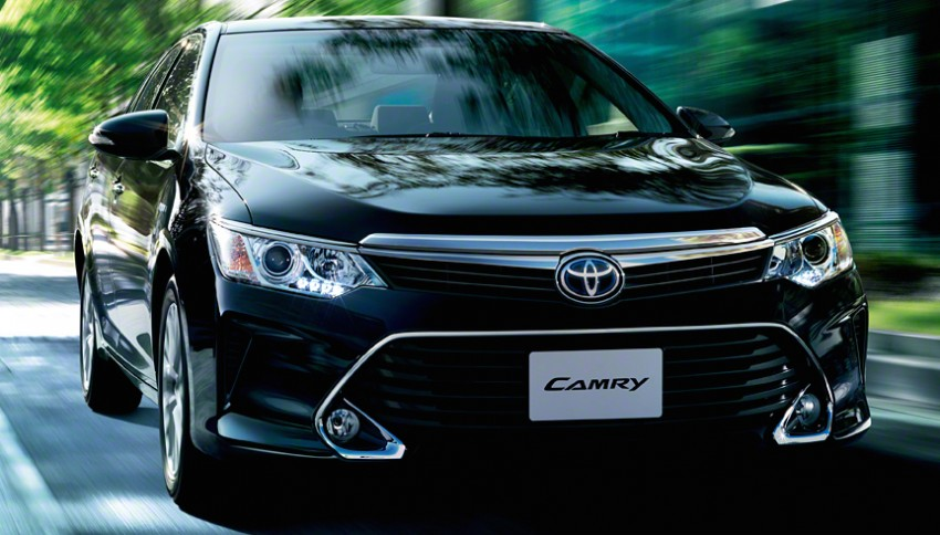Toyota Camry Hybrid facelift unveiled in Japan Image #271497