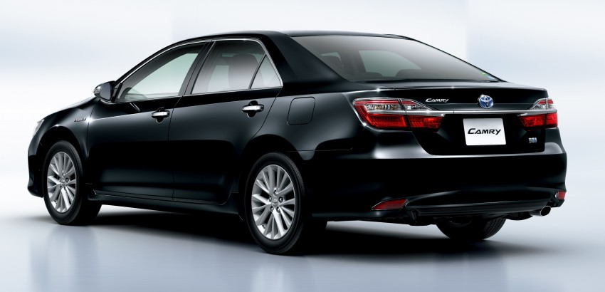 Toyota Camry Hybrid facelift unveiled in Japan Image #271478
