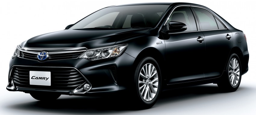 Toyota Camry Hybrid facelift unveiled in Japan Image #271479