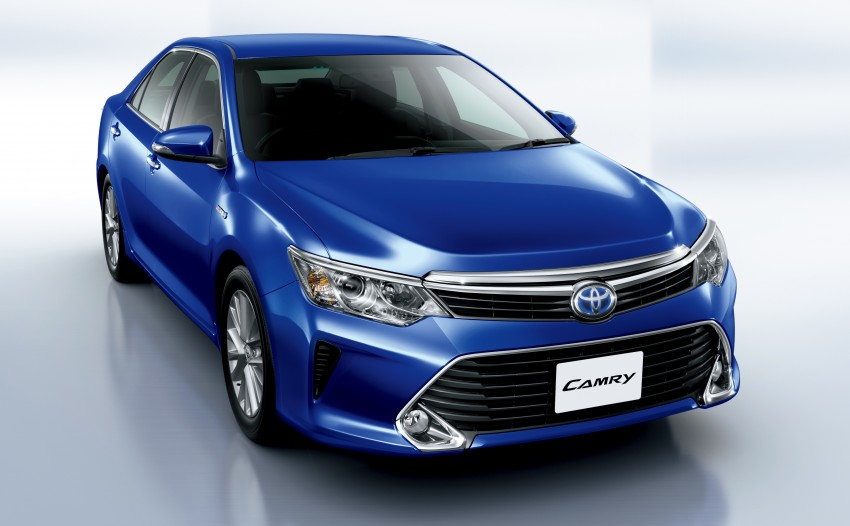 Toyota Camry Hybrid facelift unveiled in Japan Image #271480