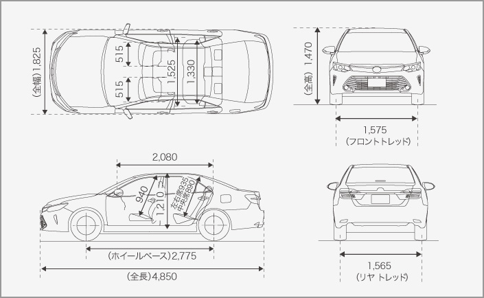 Toyota Camry Hybrid facelift unveiled in Japan Image #271498