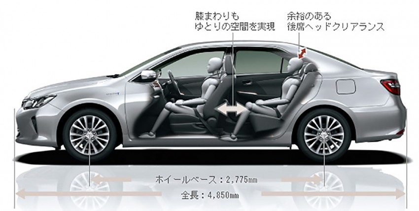 Toyota Camry Hybrid facelift unveiled in Japan Image #271481