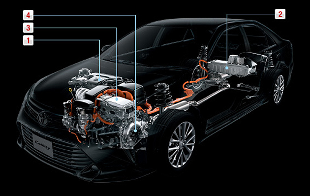 Toyota Camry Hybrid facelift unveiled in Japan Image #271483