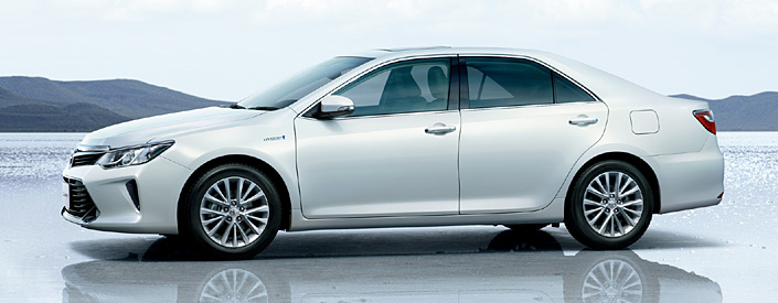 Toyota Camry Hybrid facelift unveiled in Japan Image #271484