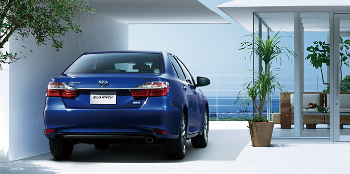 Toyota Camry Hybrid facelift unveiled in Japan Image #271508