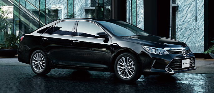 Toyota Camry Hybrid facelift unveiled in Japan Image #271486