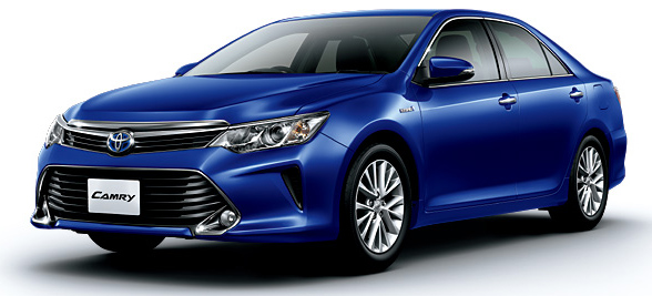Toyota Camry Hybrid facelift unveiled in Japan Image #271488