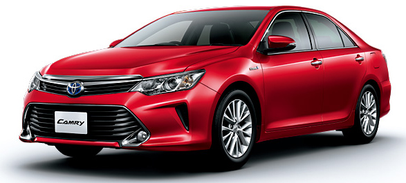 Toyota Camry Hybrid facelift unveiled in Japan Image #271490