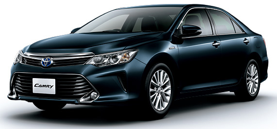 Toyota Camry Hybrid facelift unveiled in Japan Image #271491