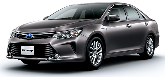 Toyota Camry Hybrid facelift unveiled in Japan Image #271492