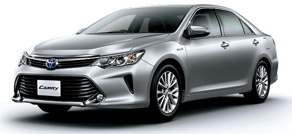 Toyota Camry Hybrid facelift unveiled in Japan Image #271493