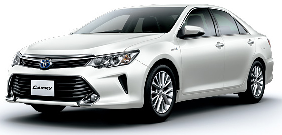 Toyota Camry Hybrid facelift unveiled in Japan Image #271494