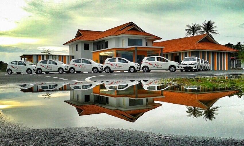Perodua Axia E – deliveries to driving schools begin Image #281790