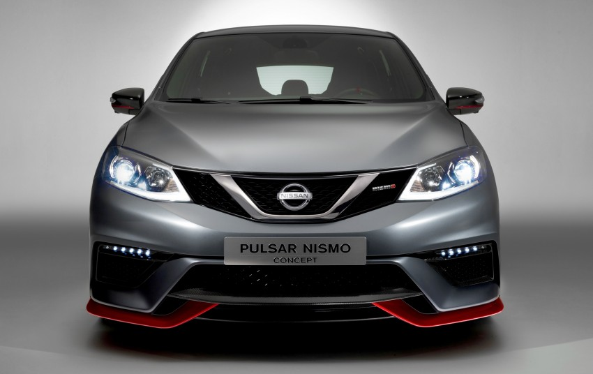 Nissan Pulsar Nismo Concept unveiled at Paris show – one step closer to taking on the Golf GTI Image #277560