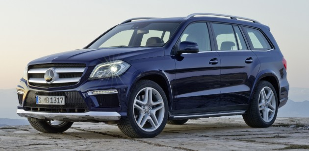 Mercedes Benz Gl Price Announced For A Road Tax