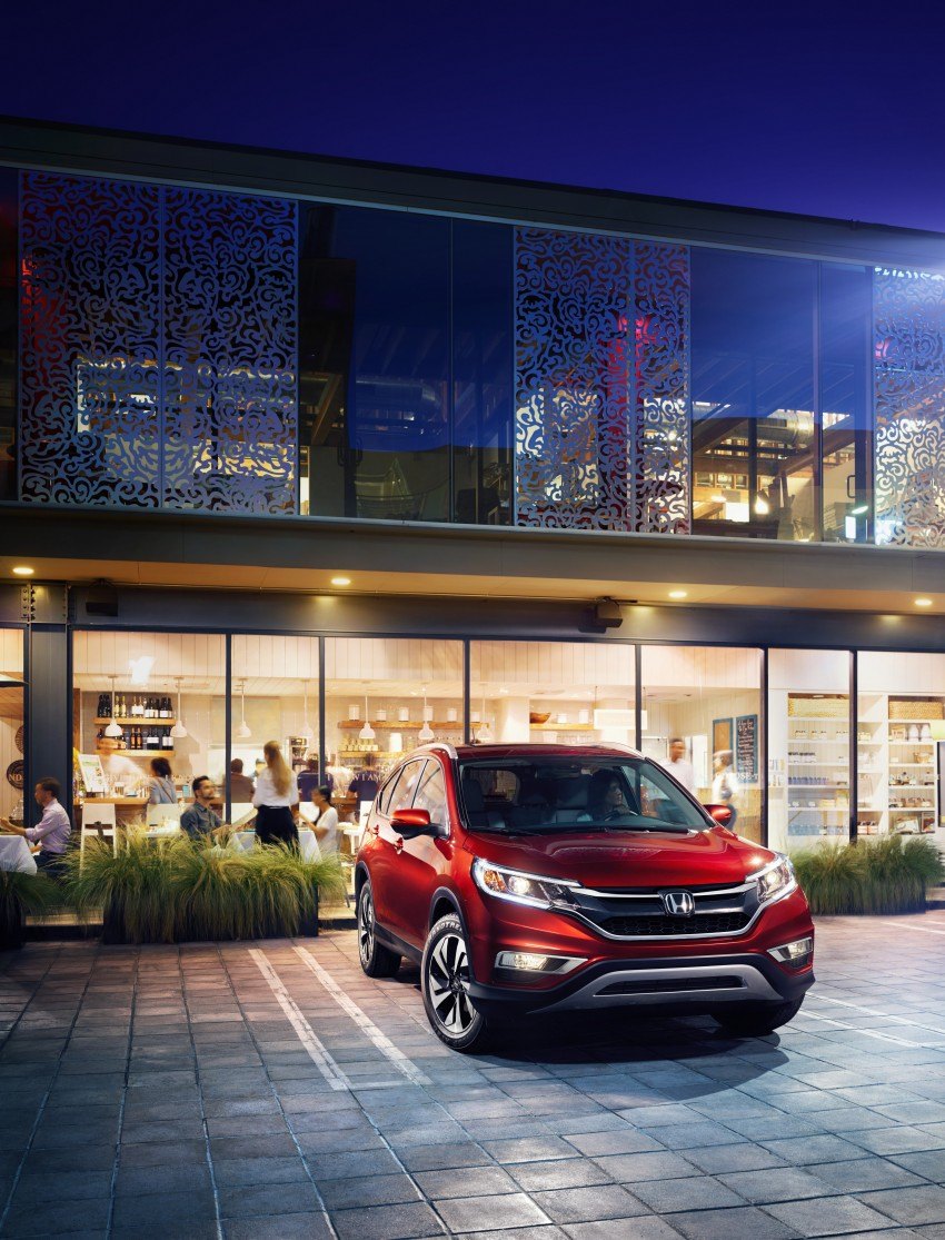 2015 Honda CR-V facelift – 2.4 i-VTEC with CVT for the US, and 1.6 i-DTEC with nine-speed auto for Europe Image #276597