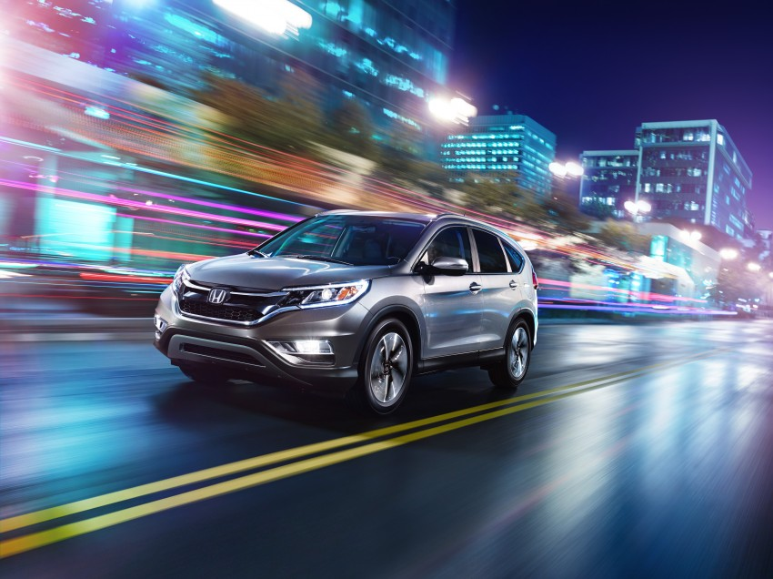2015 Honda CR-V facelift – 2.4 i-VTEC with CVT for the US, and 1.6 i-DTEC with nine-speed auto for Europe Image #276598