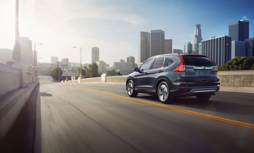 2015 Honda CR-V facelift – 2.4 i-VTEC with CVT for the US, and 1.6 i-DTEC with nine-speed auto for Europe Image #276593