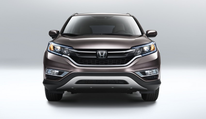 2015 Honda CR-V facelift – 2.4 i-VTEC with CVT for the US, and 1.6 i-DTEC with nine-speed auto for Europe Image #276592