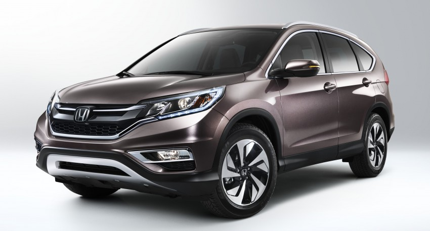 2015 Honda CR-V facelift – 2.4 i-VTEC with CVT for the US, and 1.6 i-DTEC with nine-speed auto for Europe Image #276590