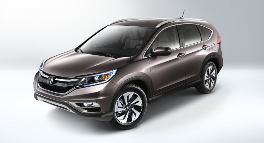 2015 Honda CR-V facelift – 2.4 i-VTEC with CVT for the US, and 1.6 i-DTEC with nine-speed auto for Europe Image #276591