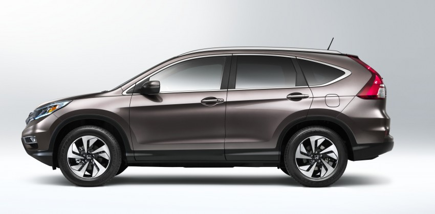 2015 Honda CR-V facelift – 2.4 i-VTEC with CVT for the US, and 1.6 i-DTEC with nine-speed auto for Europe Image #276589