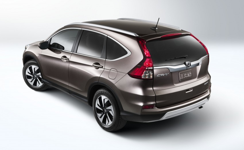 2015 Honda CR-V facelift – 2.4 i-VTEC with CVT for the US, and 1.6 i-DTEC with nine-speed auto for Europe Image #276584