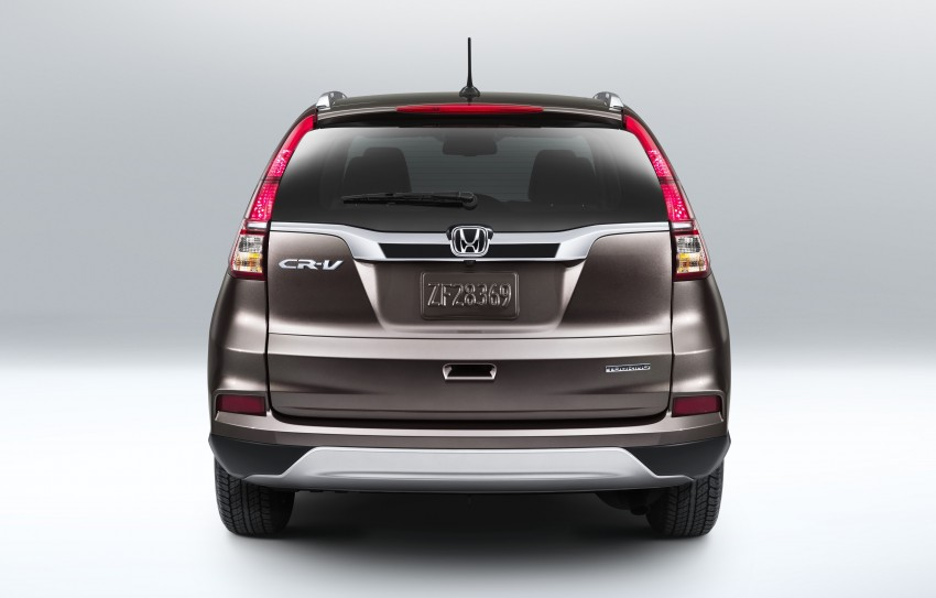 2015 Honda CR-V facelift – 2.4 i-VTEC with CVT for the US, and 1.6 i-DTEC with nine-speed auto for Europe Image #276585