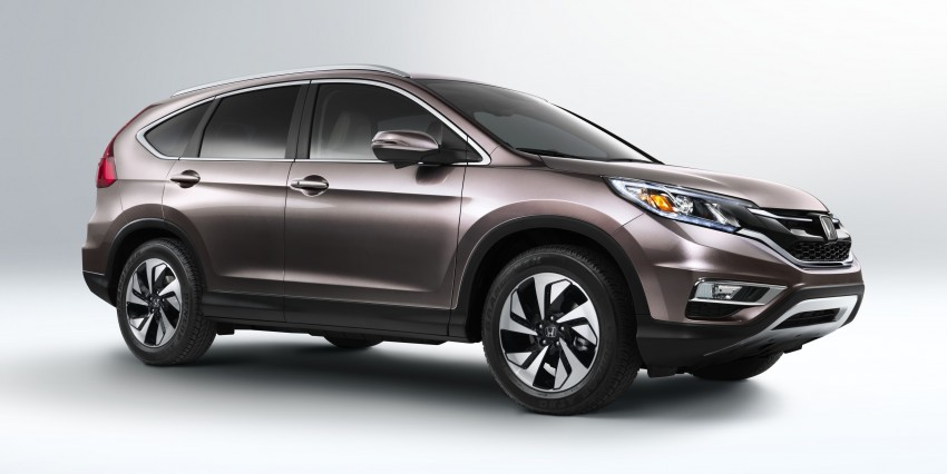 2015 Honda CR-V facelift – 2.4 i-VTEC with CVT for the US, and 1.6 i-DTEC with nine-speed auto for Europe Image #276587