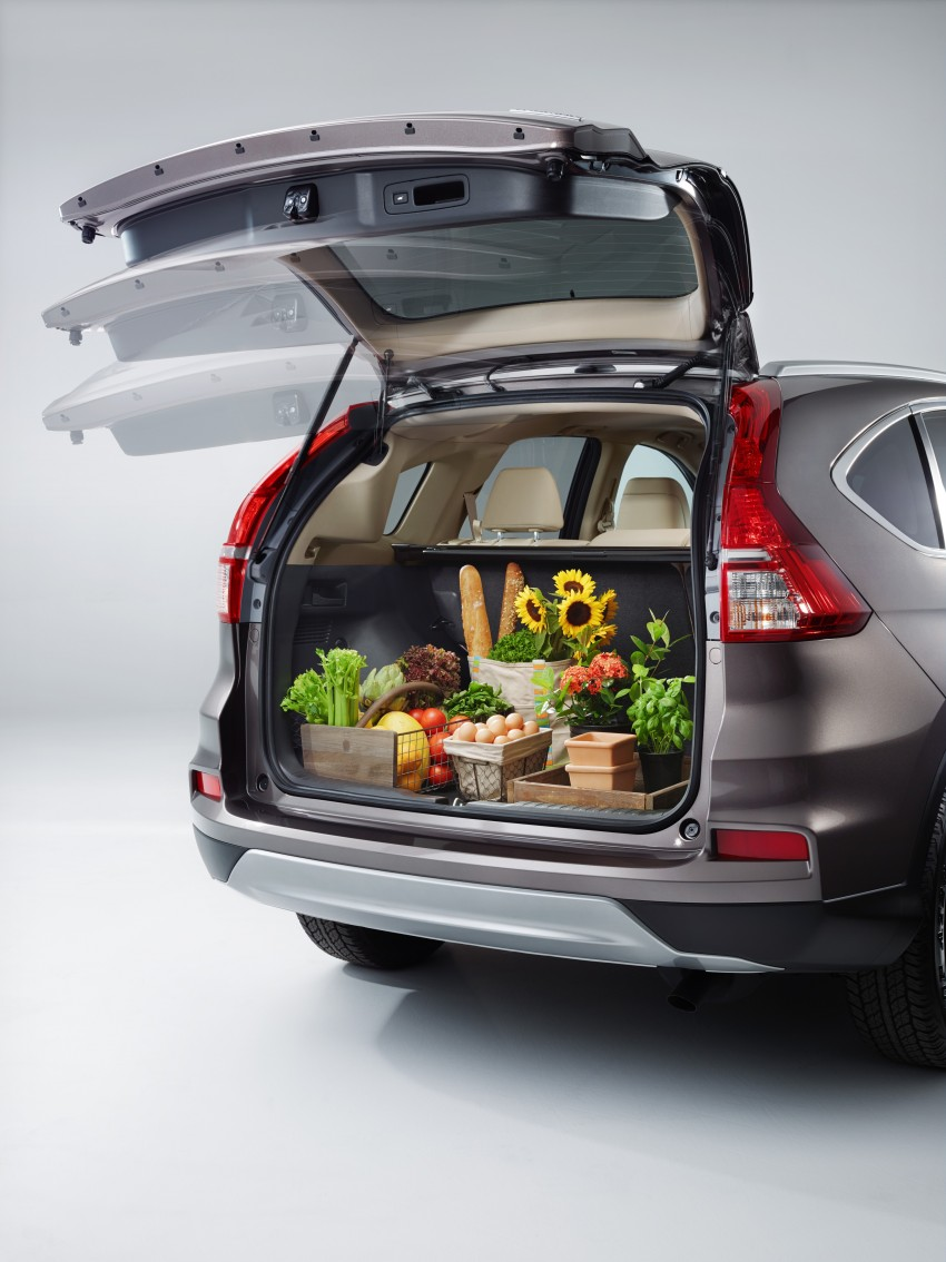2015 Honda CR-V facelift – 2.4 i-VTEC with CVT for the US, and 1.6 i-DTEC with nine-speed auto for Europe Image #276581
