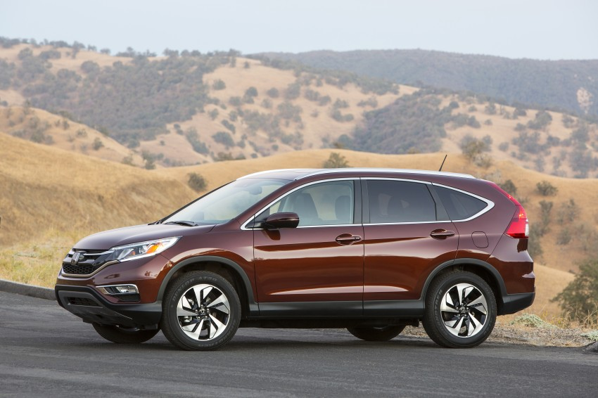 2015 Honda CR-V facelift – 2.4 i-VTEC with CVT for the US, and 1.6 i-DTEC with nine-speed auto for Europe Image #276574