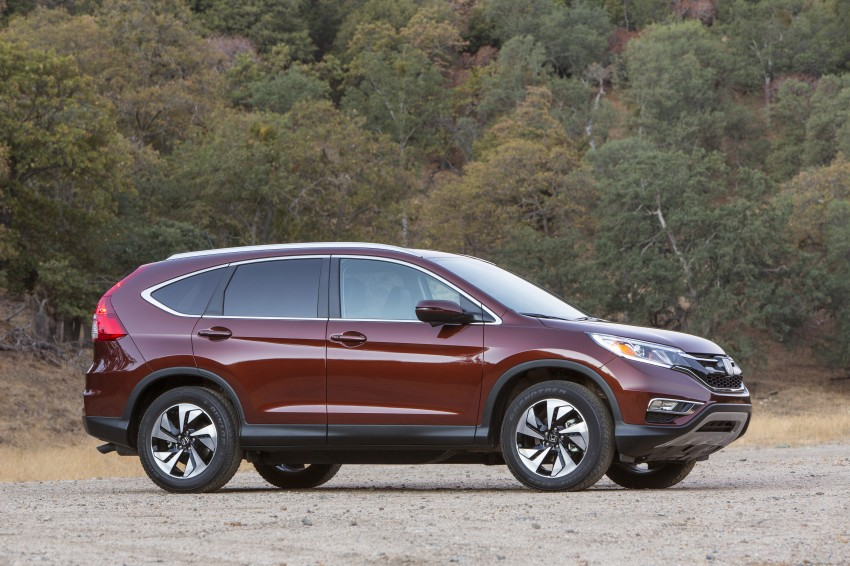 2015 Honda CR-V facelift – 2.4 i-VTEC with CVT for the US, and 1.6 i-DTEC with nine-speed auto for Europe Image #276573