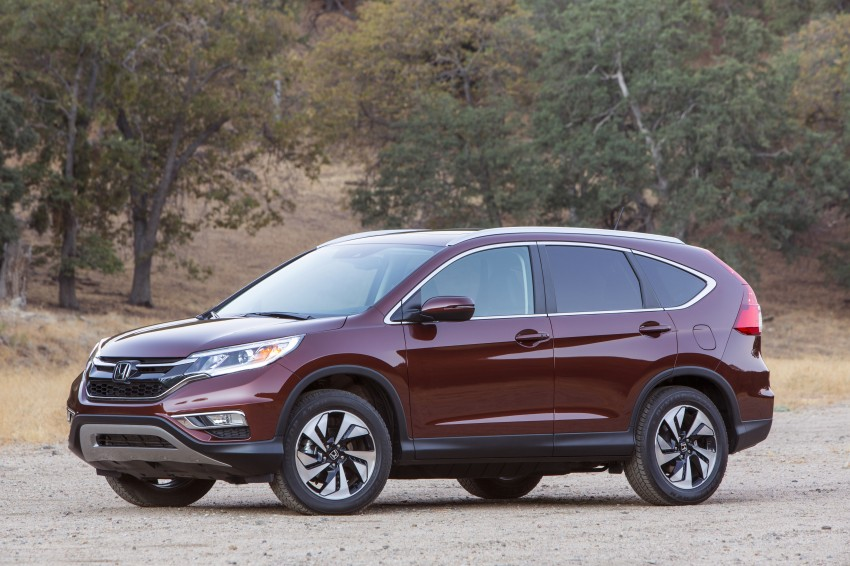 2015 Honda CR-V facelift – 2.4 i-VTEC with CVT for the US, and 1.6 i-DTEC with nine-speed auto for Europe Image #276596