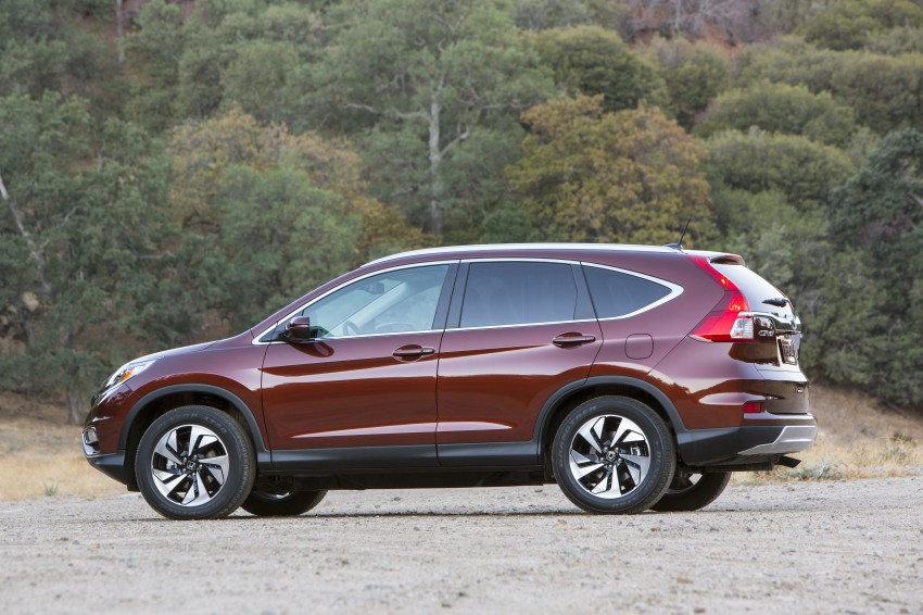 2015 Honda CR-V facelift – 2.4 i-VTEC with CVT for the US, and 1.6 i-DTEC with nine-speed auto for Europe Image #276572