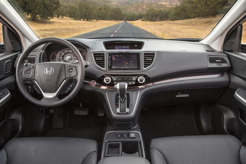2015 Honda CR-V facelift – 2.4 i-VTEC with CVT for the US, and 1.6 i-DTEC with nine-speed auto for Europe Image #276595