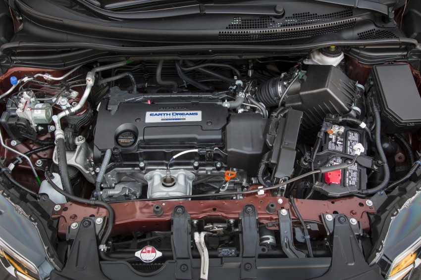 2015 Honda CR-V facelift – 2.4 i-VTEC with CVT for the US, and 1.6 i-DTEC with nine-speed auto for Europe Image #276567
